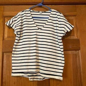 J Crew tee shirt. Size L.
